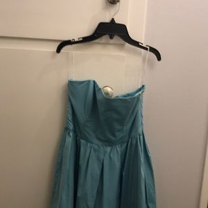Strapless Blue Zara Dress 👗 $20